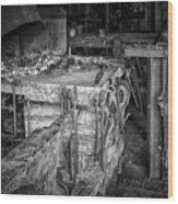 Blacksmith Bench Wood Print