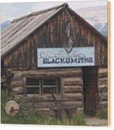 Blacksmiths Wood Print