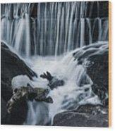 Blackstone Falls Wood Print