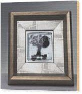 Blacktree Framed Wood Print