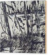 Blackwell Wood Print by Norman F Jackson