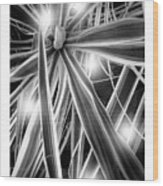 Blades Wood Print