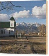Blanca Colorado Wood Print