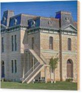 Blanco County Courthouse Wood Print