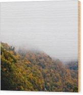 Blanket Of Clouds Wood Print