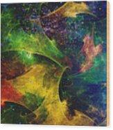 Blanket Of Stars Wood Print