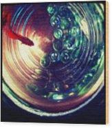 Blaze I Wood Print by Kevin Bergen