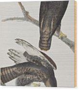 Blck Warrior Wood Print