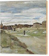Bleaching Ground At Scheveningen Wood Print
