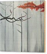 Bleeding Willow Wood Print