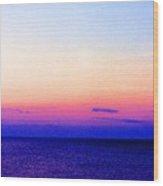 Blend Above The Lake 233 Wood Print