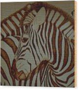 Blending In Wood Print