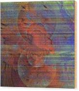 Blending Palette Wood Print