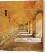 Blenheim Arches Wood Print