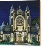 Blessed Sacrement Cathedral Wood Print
