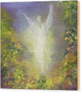 Blessing Angel Wood Print
