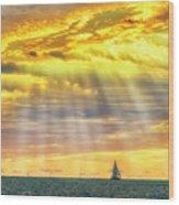 Blessings Bestowed  7848 Wood Print