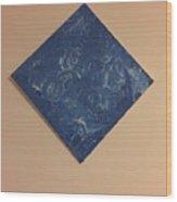 Bleu #2 Wood Print