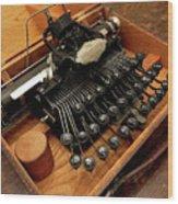 Blickensderfer No. 5 Wood Print