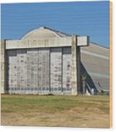 Blimp Hanger From Closed El Toro Marine Corps Air Station Wood Print