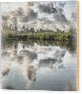 Blind Pass Bayou Sanibel Island Florida Wood Print