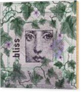 Bliss On Tile Wood Print