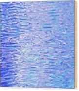 Blissful Blue Ocean Wood Print