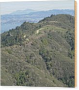 Blithedale Ridge On Mount Tamalpais Wood Print