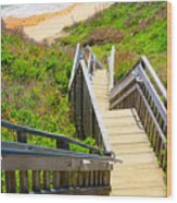 Block Island Beach - Rhode Island Wood Print