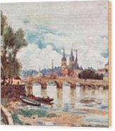 Blois Wood Print