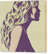 Blonde Wood Print by Giuseppe Cristiano