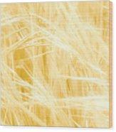 Blonde Summers Wood Print