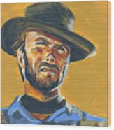 Blondie      The Good The Bad And The Ugly Wood Print