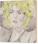 Blondie Wood Print