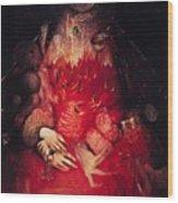 Blood Queen Wood Print