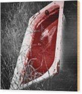 Bloody Bathtub Wood Print