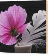 Bloom With Spring Wood Print