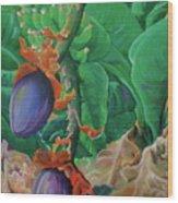 Bloomin' Bananas Wood Print