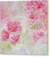 Blooming Love Wood Print
