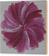 Blooming Root Chakra Wood Print