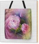 Blooming  Bag  Wood Print
