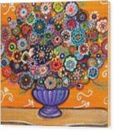 Blooms 6 Wood Print