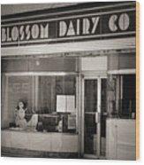 Blossom Dairy Co. Wood Print