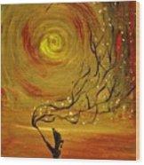 Blossom Wood Print by Evelina Popilian