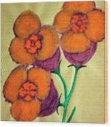 Blossom In High Spirit #6 Wood Print