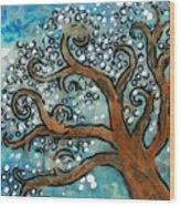Blossom Tree - Miniature Art Wood Print