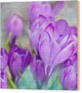 Blossoming Souls Wood Print