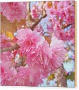 Blossoms Wood Print