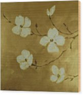 Blossoms I Wood Print