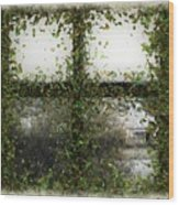 Blotted Out Wood Print